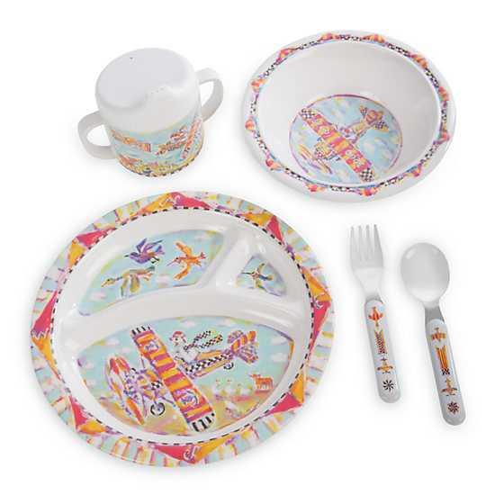 Toddleru0027s Dinnerware Set - Take Flight  sc 1 st  MacKenzie-Childs & MacKenzie-Childs | Toddleru0027s Dinnerware Set - Take Flight