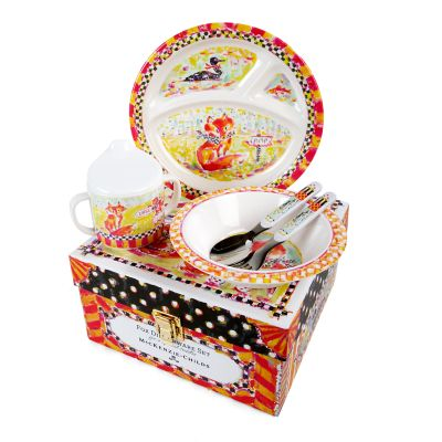 Toddler's Dinnerware Set - Fox