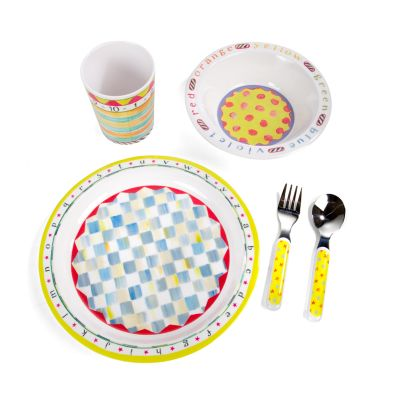 Toddler's Dinnerware Set - ABC Starter Set