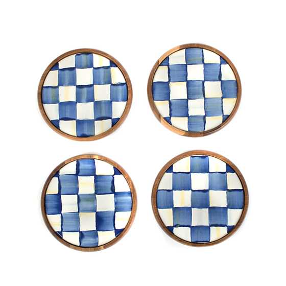 Royal Check Coasters - Set of 4 image one