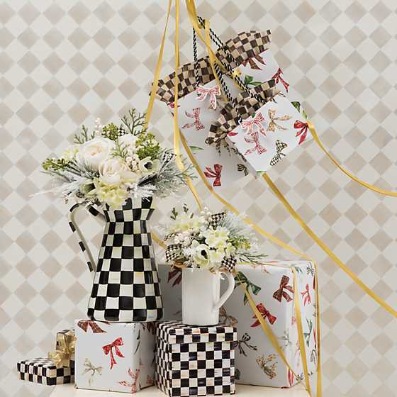 Courtly Check Gift Wrap - Set of 2