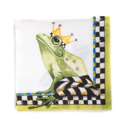 Frog Paper Napkins - Cocktail