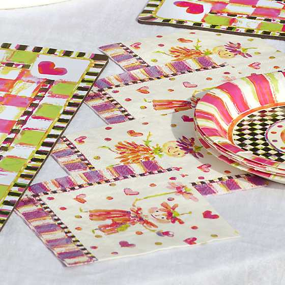 Pixie Party Paper Napkins - Beverage/Dessert image two