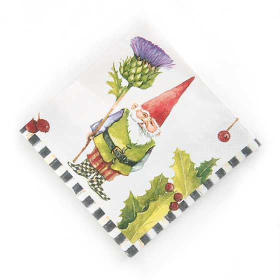 Home Sweet Gnome Paper Napkins - Cocktail