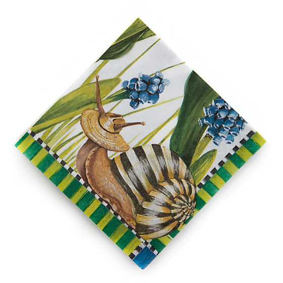 Snail Paper Napkins - Cocktail