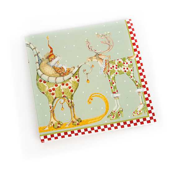 Patience Brewster Dash Away Paper Napkins - Cocktail