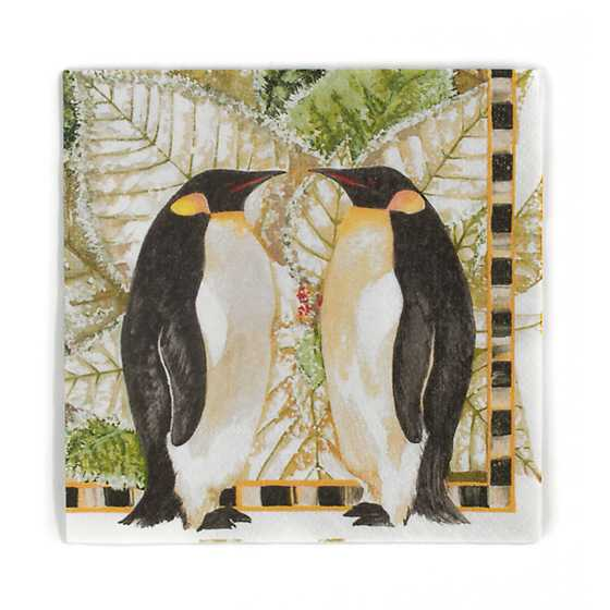 Penguin Paper Napkins - Cocktail