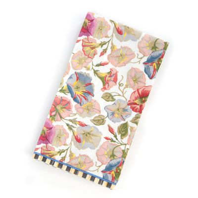 Morning Glory Paper Napkins - Guest