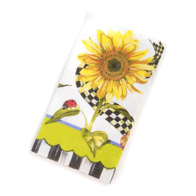 Sunflower Paper Napkins - Guest