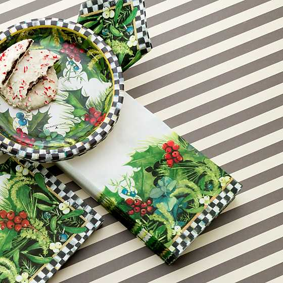 Holly & Berry Paper Napkins - Guest image two
