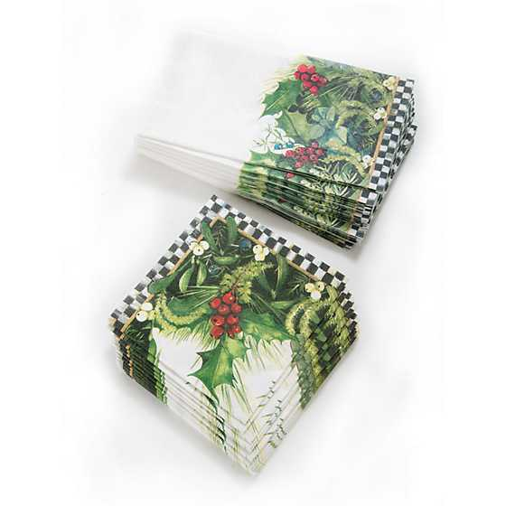 Holly & Berry Paper Napkins - Guest image four