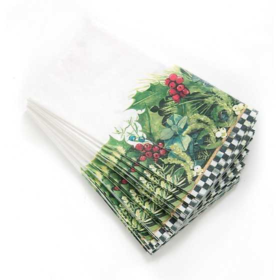 Holly & Berry Paper Napkins - Guest image three