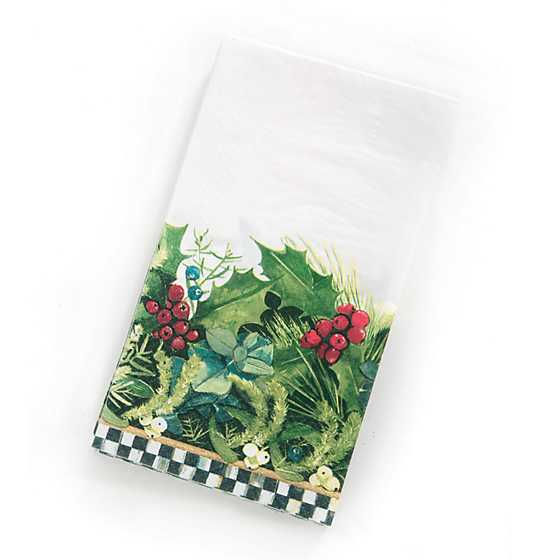 Holly & Berry Paper Napkins - Guest