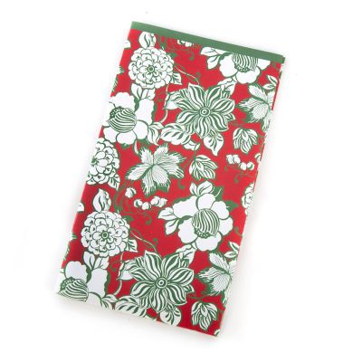Winter Bouquet Paper Napkins - Guest