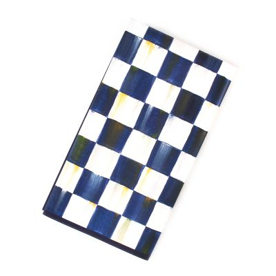 Royal Check Paper Napkins - Guest