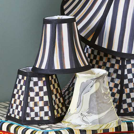 Courtly Stripe Shade - Chandelier image three