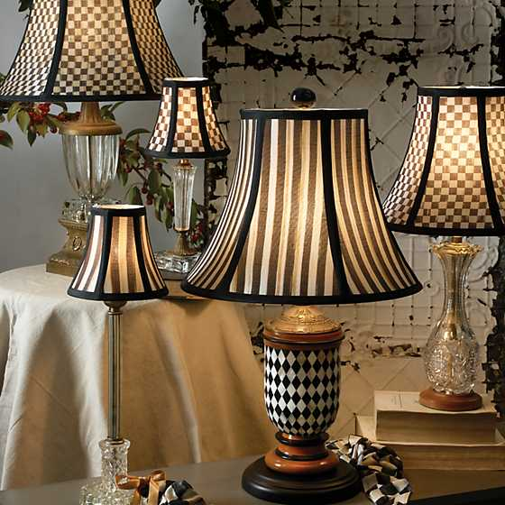 Courtly Stripe Shade - Chandelier image four