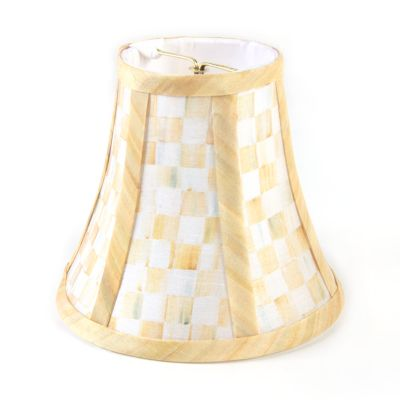 Parchment Check Shade - Chandelier