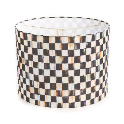Courtly Check Drum Shade - Medium