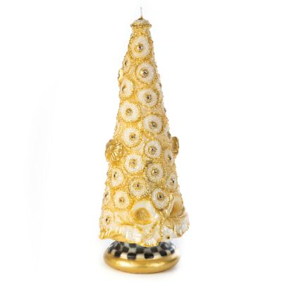 Golden Tree Candle - 12""