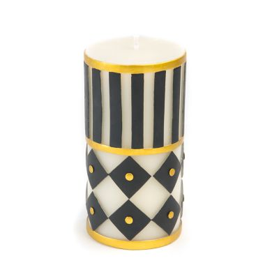 Jester Pillar Candle - 6""