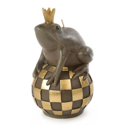 Frog on Ball Candle