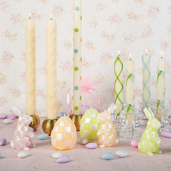 Pastel Rabbit Candles - Set of 3 image four