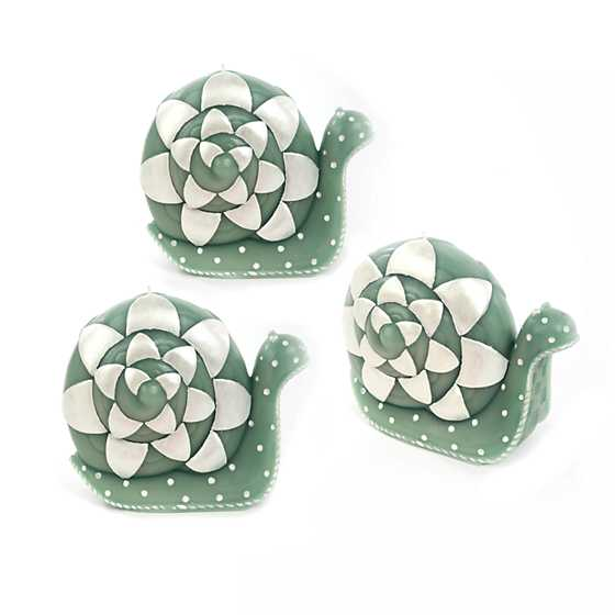 Snail Candles - Set of 3