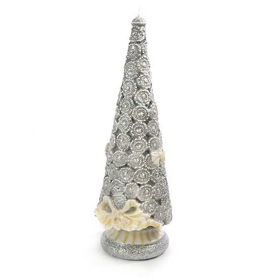 Silver Lining Tree Candle - 16""