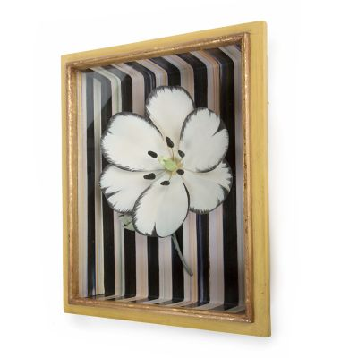 Tulip Shadow Box - White