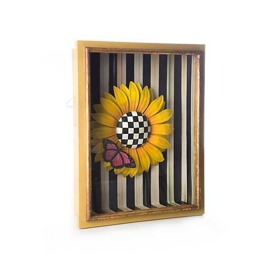 Sunflower Shadow Box image three