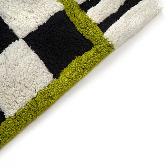 Courtly Check Bath Rug - Large image three