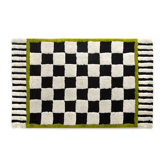 Courtly Check Bath Rug - Large