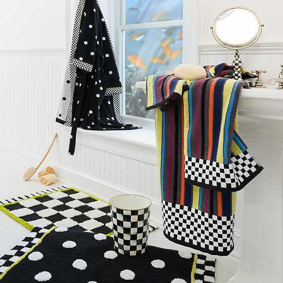 Courtly Check Bath Rug - Standard image two