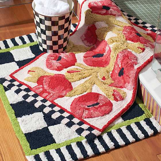 Courtly Check Bath Rug - Standard image four