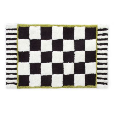 Courtly Check Bath Rug - Standard