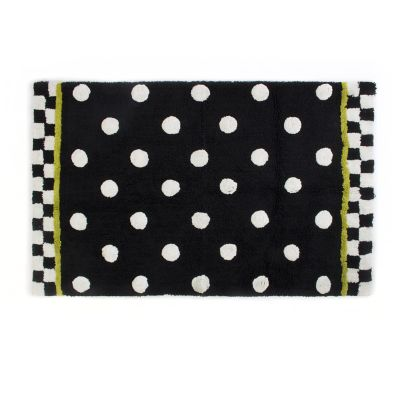 Dotty Bath Rug - Large