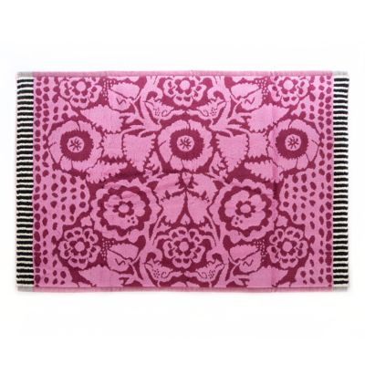 Hollyhock Bath Mat