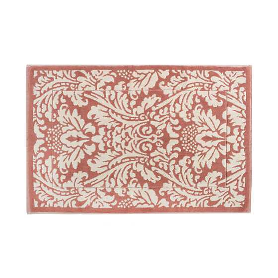 Canterbury Bath Mat - Blush image two