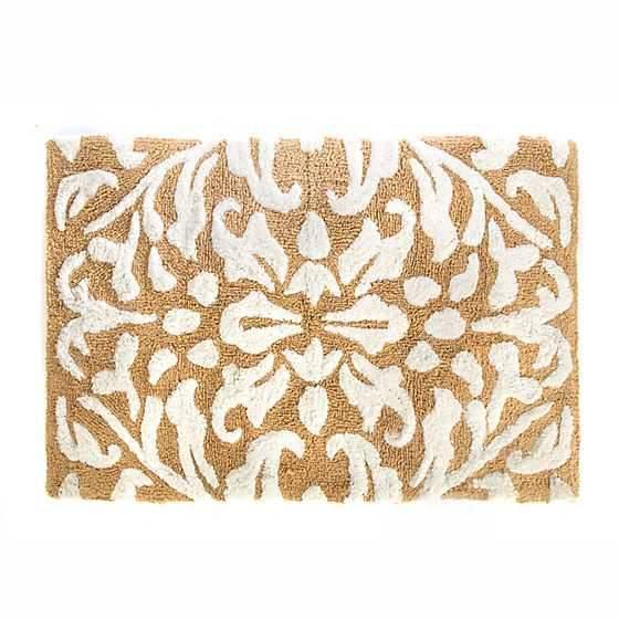 Canterbury Bath Rug - Ochre image one