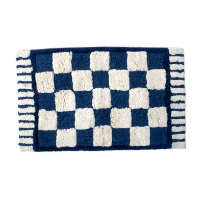 Royal Check Standard Bath Rug