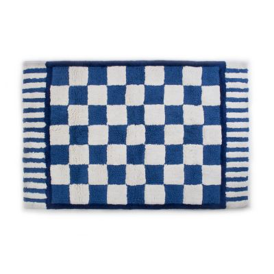 Royal Check Bath Rug - Large