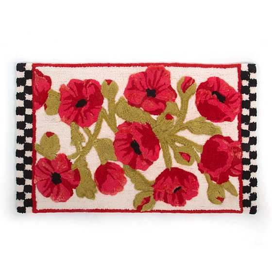 Mackenzie childs poppy bath rug poppy bath rug mightylinksfo
