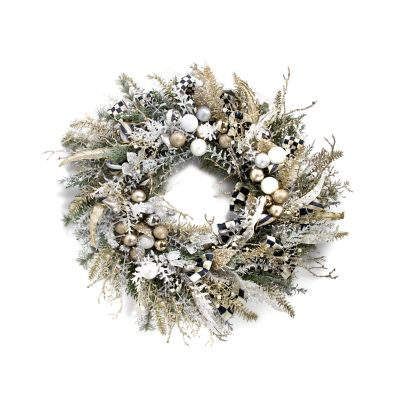 Silver Lining Wreath - Small