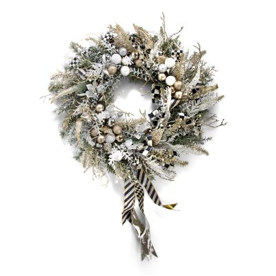 Silver Lining Wreath - Large