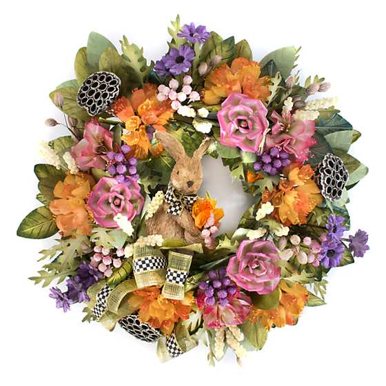 Farmhouse Garden Wreath image one