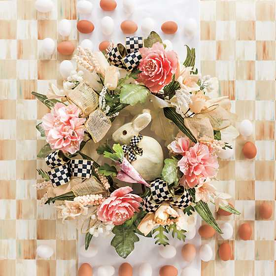 Cottontail Wreath image two