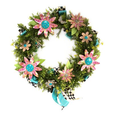 Flower Power Wreath