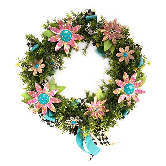 Flower Power Wreath image one