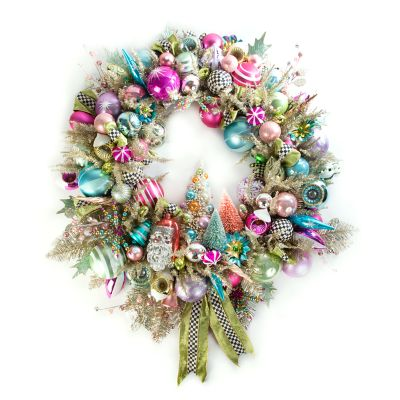 Home Sweet Snow Wreath